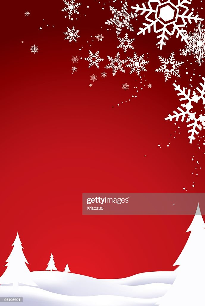 Red And White Christmas Background High Res Vector Graphic