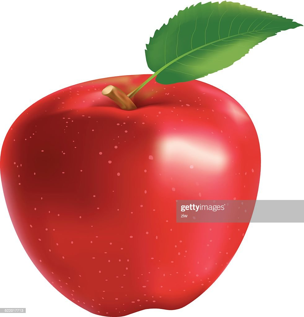 Red Apple - Illustration
