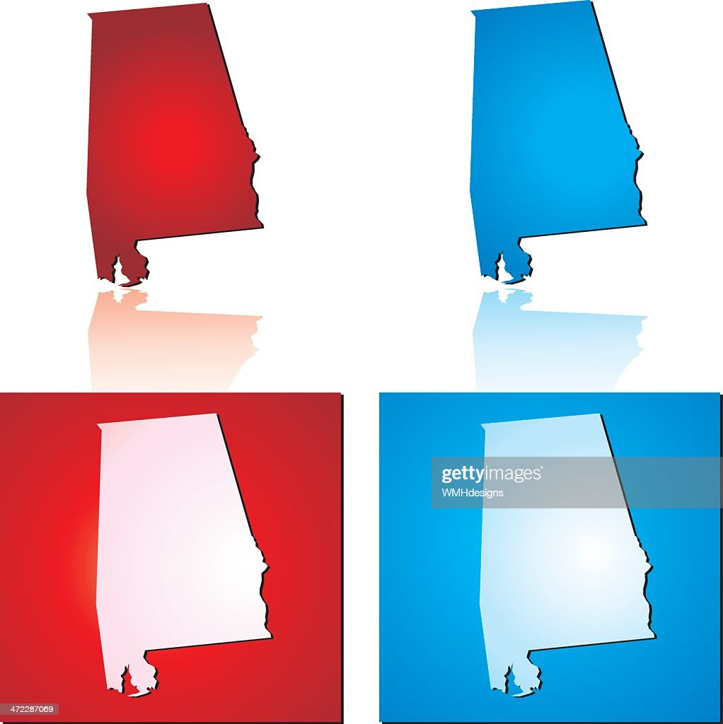 Red Blue Alabama