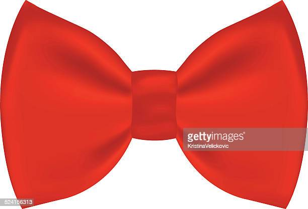 red bow - hair bow stock illustrations
