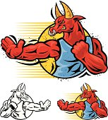 red bull fighter