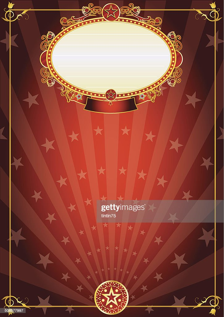 Red carnival : Vector Art