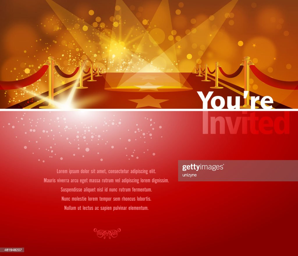 Red Carpet Background : stock illustration