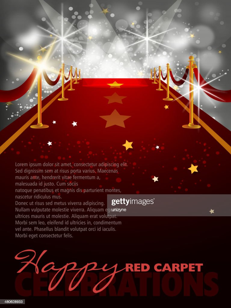 Red Carpet Background With Paparazzi Flashes High Res Vector Graphic Getty Images