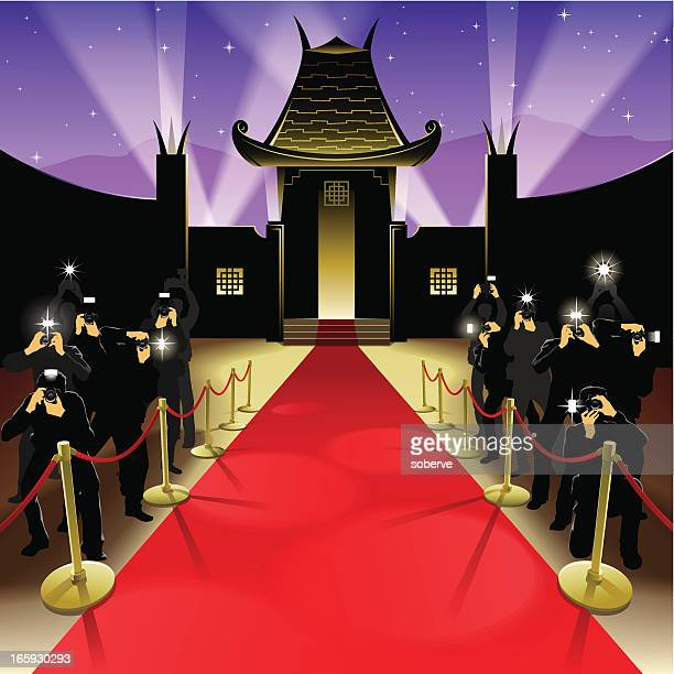 Red carpet gala