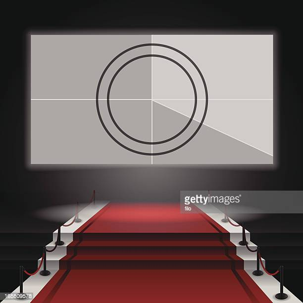 Red Carpet Movie Screen