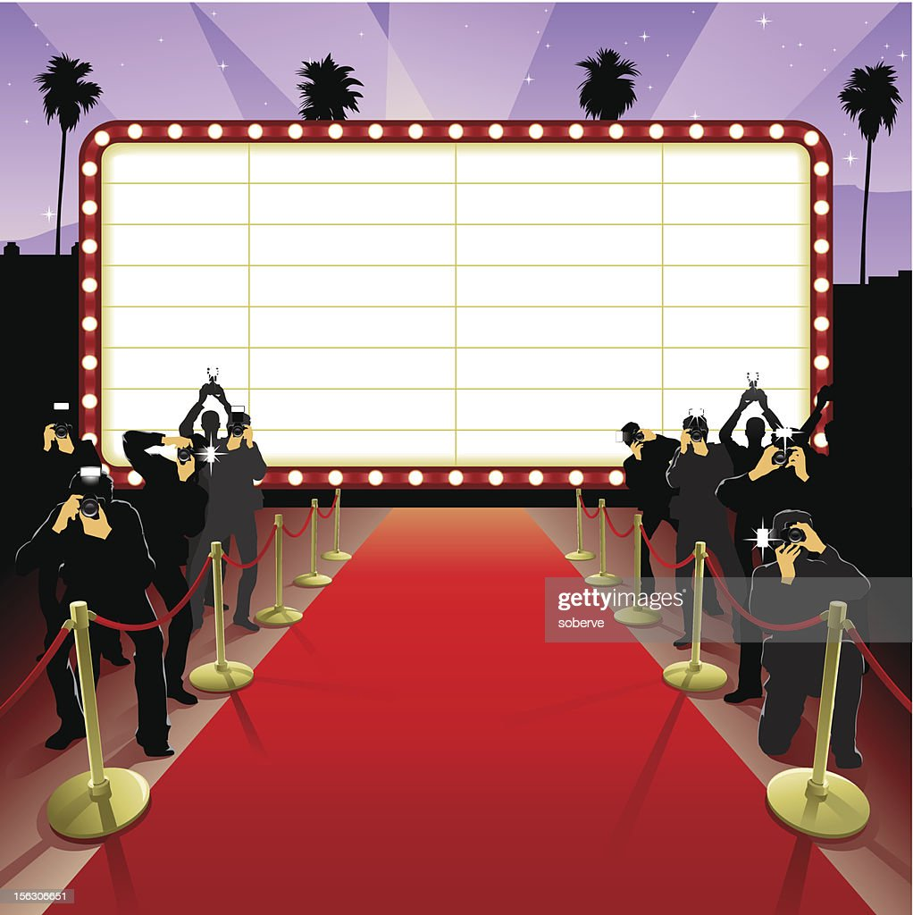 Red Carpet : stock illustration