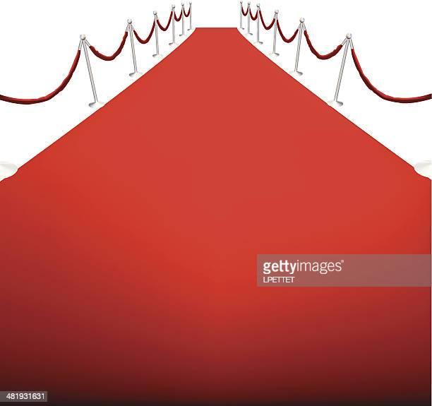 Red Carpet - Vector Illustration