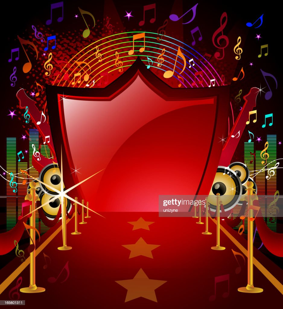 Red Carpet with Musical Background