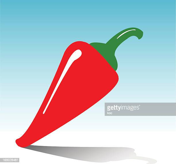 red chili - red chili pepper stock illustrations, clip art, cartoons, & icons