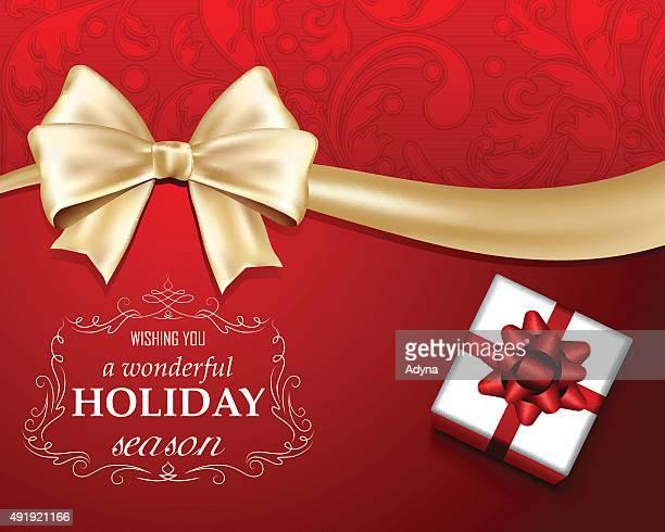 Rote Weihnachten Begrüßung