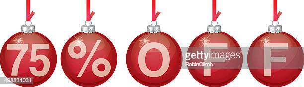 Red Christmas Ornament 75 Off