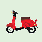 red city scooter