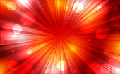 Red color burst background poster flyer banner