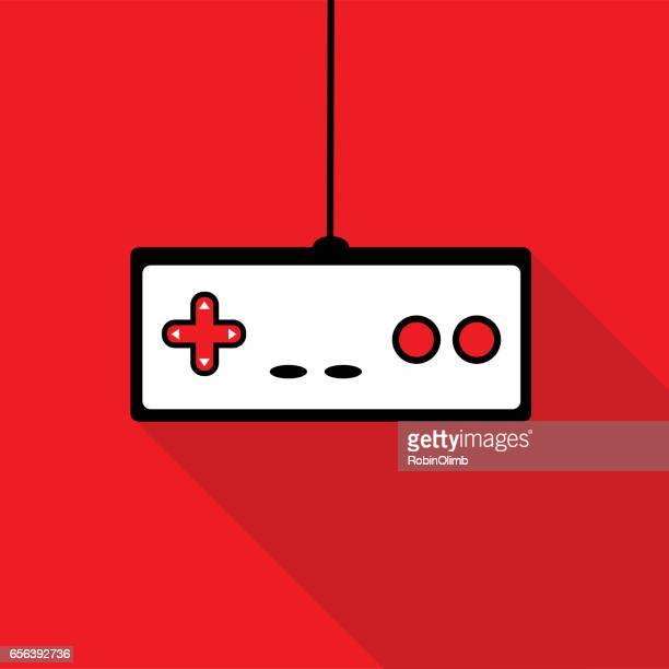 Red Game Controller Icon