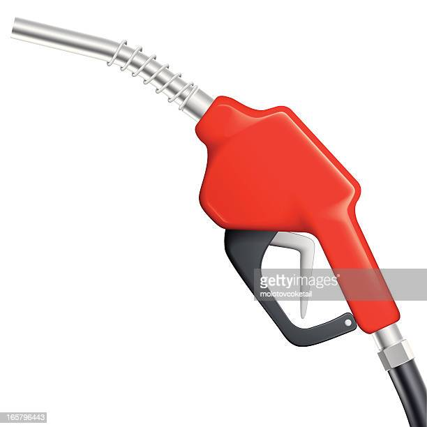 red gas nozzle