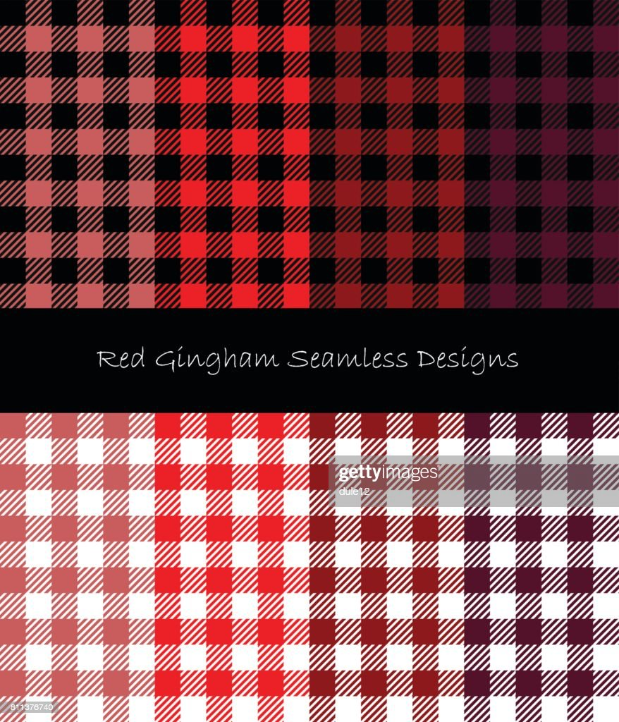 Red Gingham Collection