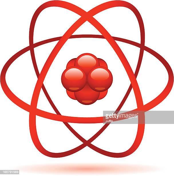 atom - orbiting stock-grafiken, -clipart, -cartoons und -symbole