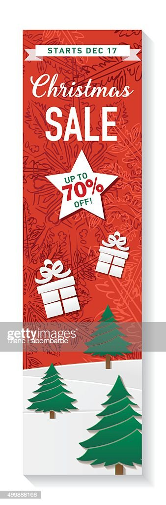 red green and white christmas sale tag template vector art getty