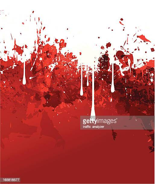 red grunge background - slimy stock illustrations, clip art, cartoons, & icons