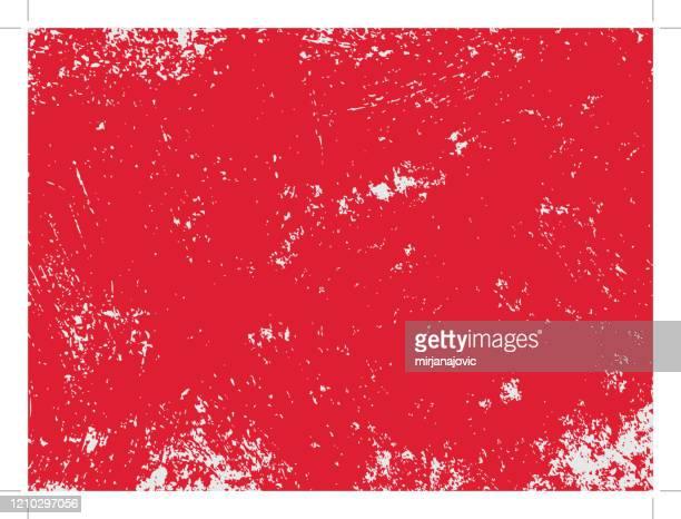 赤いグランジテクスチャ - ダメージ点のイラスト素材/クリップアート素材/マンガ素材/アイコン素材
