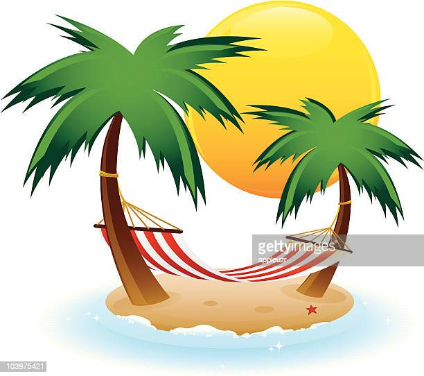 Hammock Stock Illustrations And Cartoons Getty Images