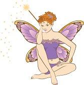 Red Headed Fairy