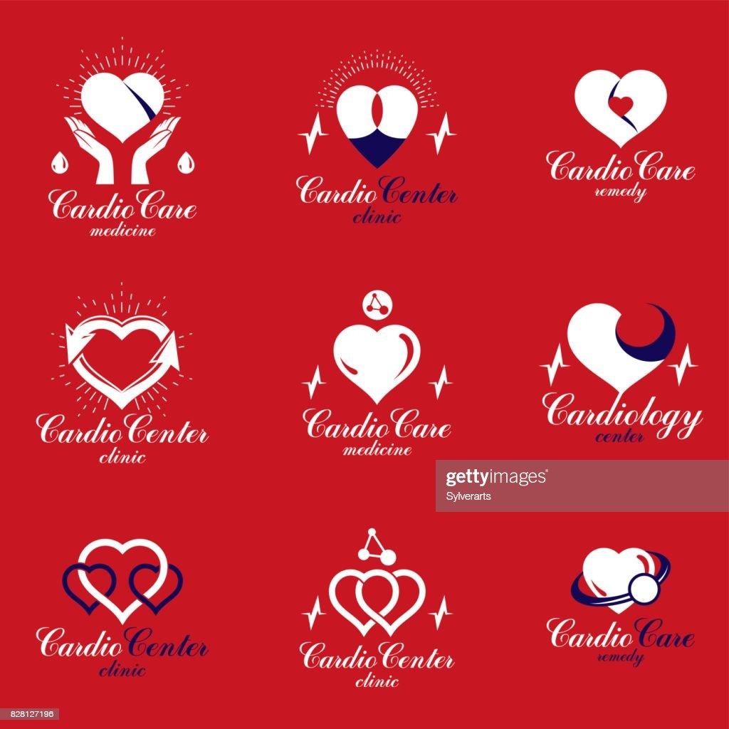 Rotes Herzformen Mithilfe Von Ekgdiagrammen Und Pflege Der Hände ...