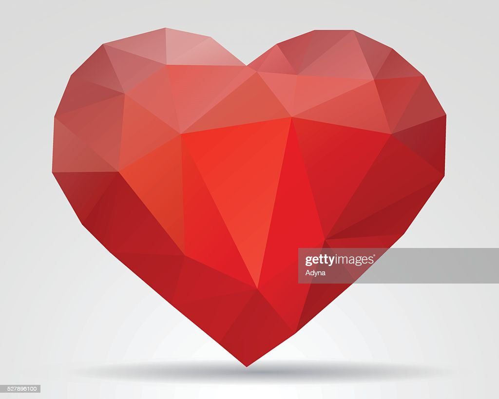 Red Heart : stock illustration
