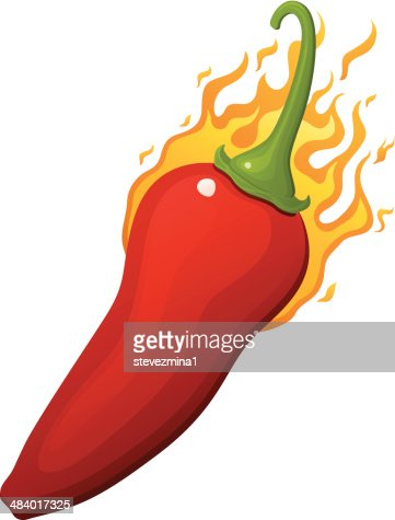 red hot chili pepper vector art | getty images