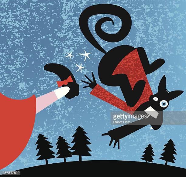ilustrações de stock, clip art, desenhos animados e ícones de remate capuz vermelho - chapeuzinho vermelho