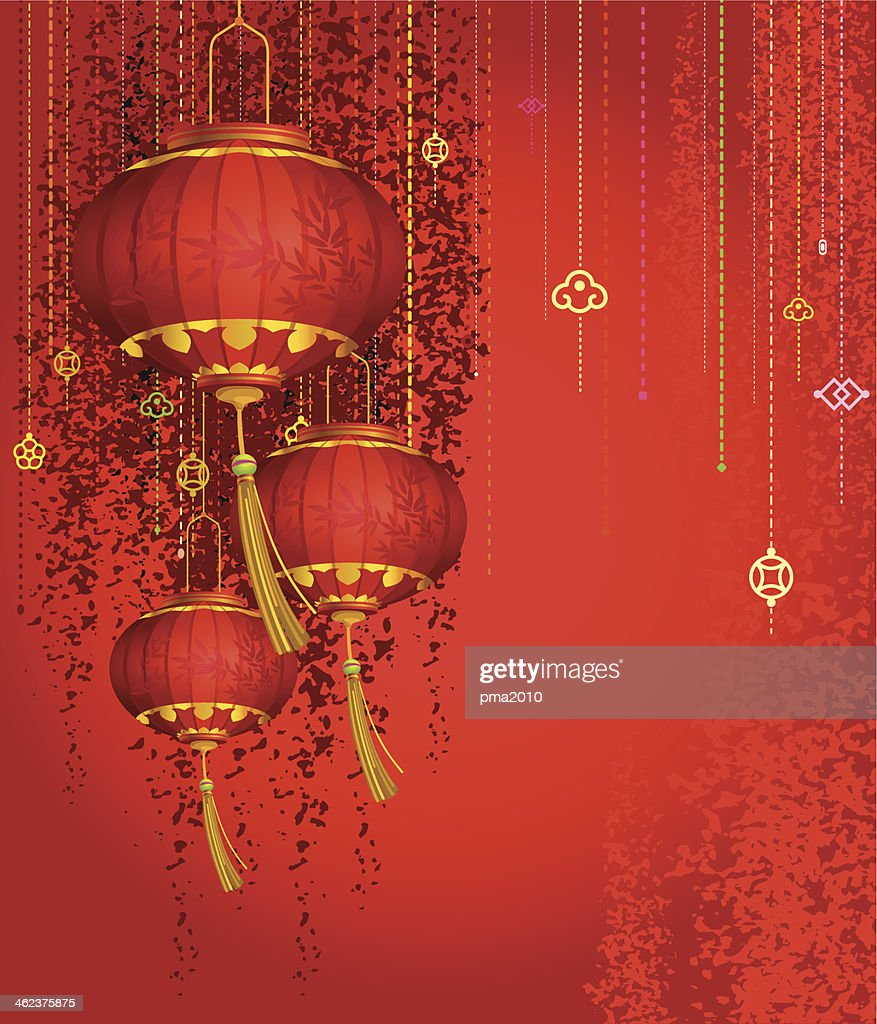 Red Lanterns background