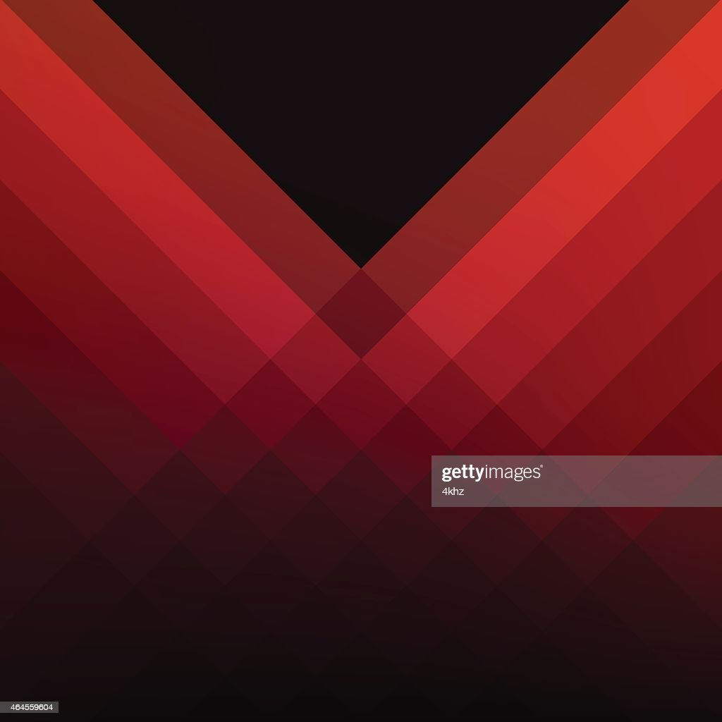 Red line vector background pattern