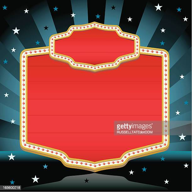 Red Movie Sign