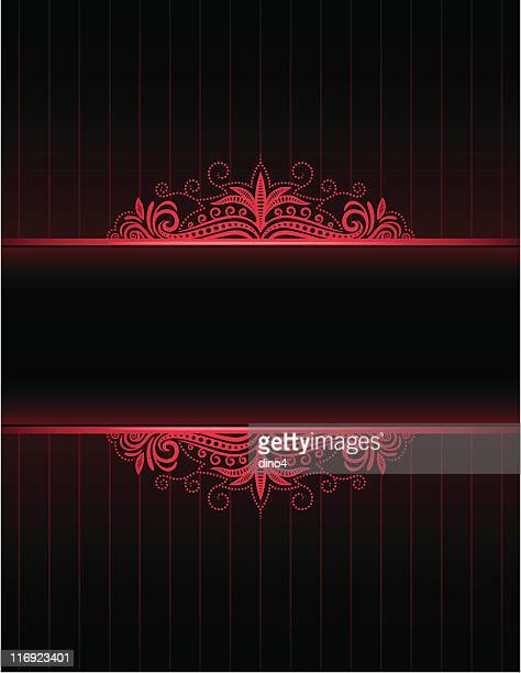 Red Neon Frame