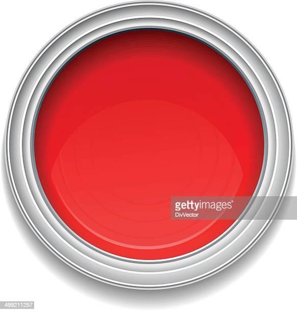 Rouge Pot de peinture