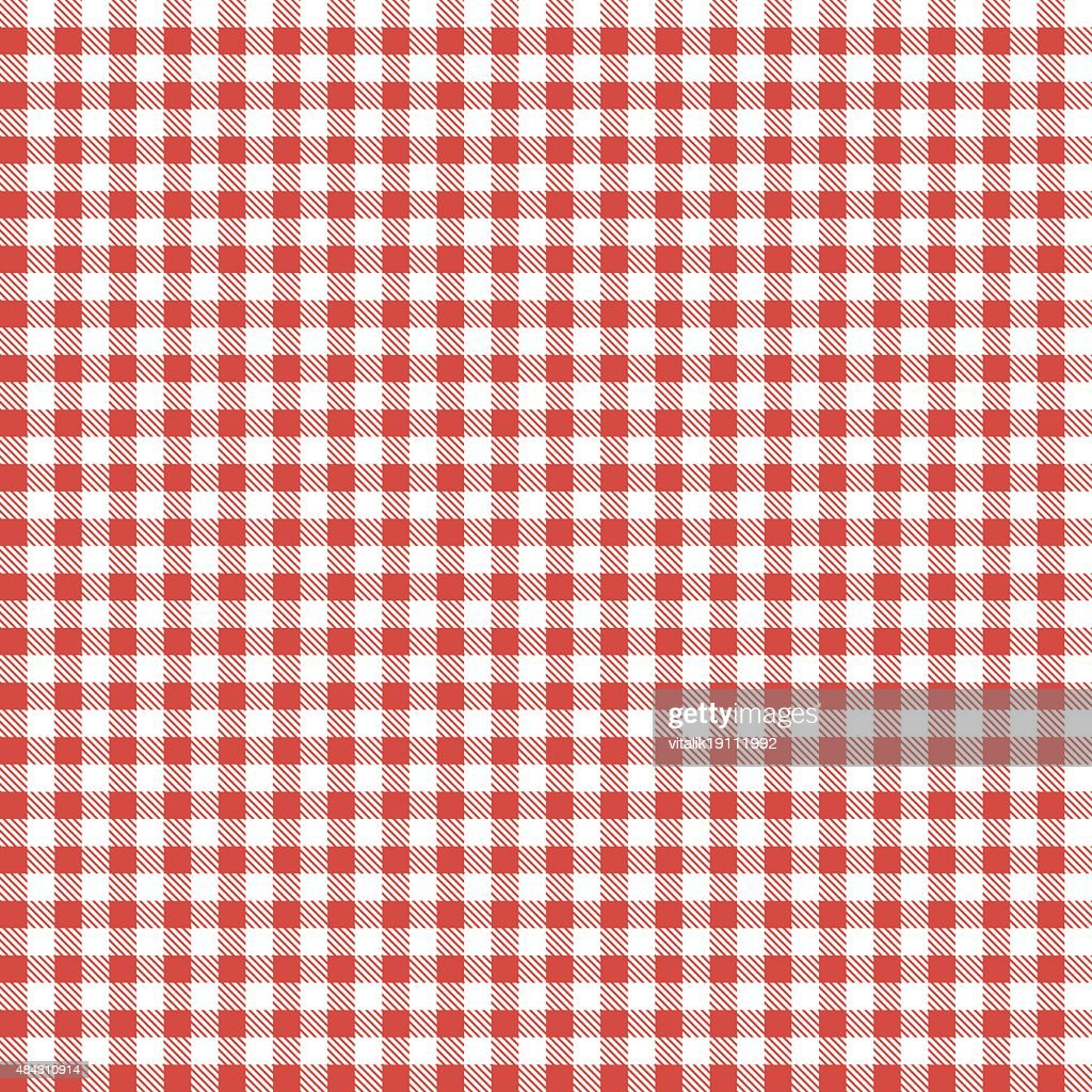 Red patterns tablecloths