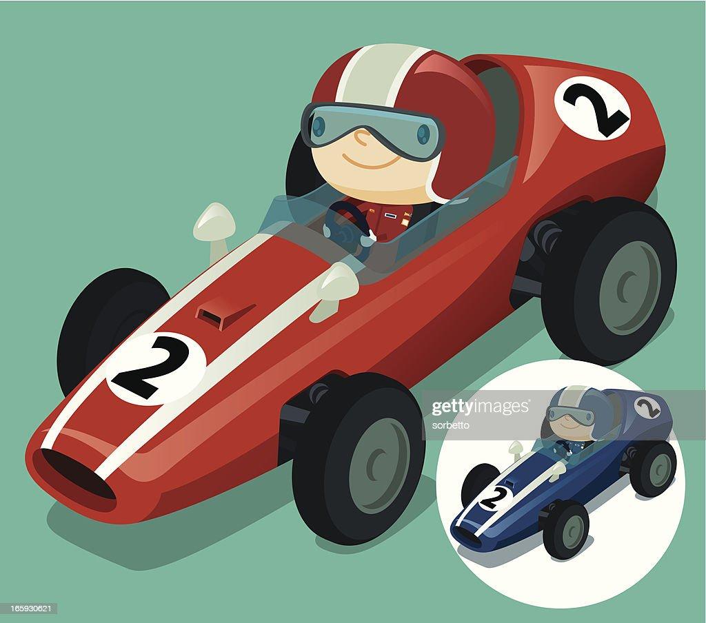 Red Race Car : stock illustration