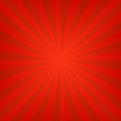 Red ray burst background