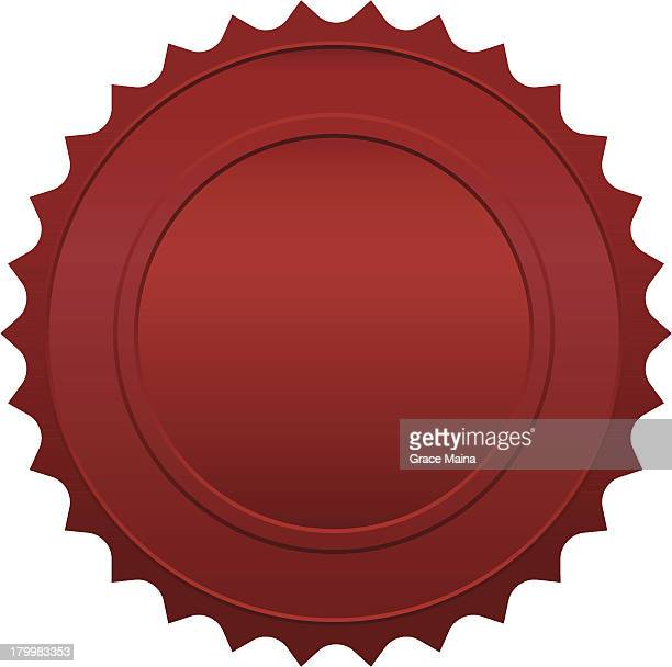 Red seal Design Element - VECTOR