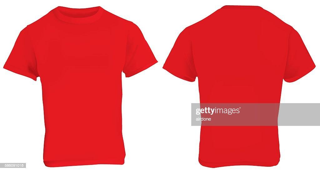 Red Shirt Template