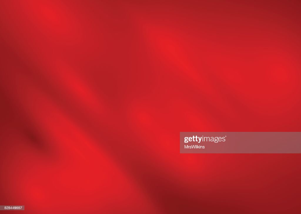 Red silk background vector
