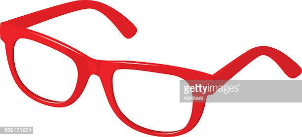 red spectacles