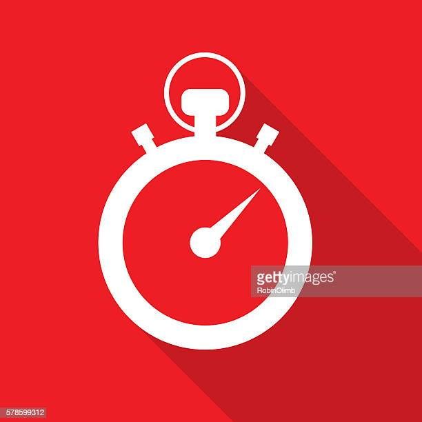Red Stopwatch Icon