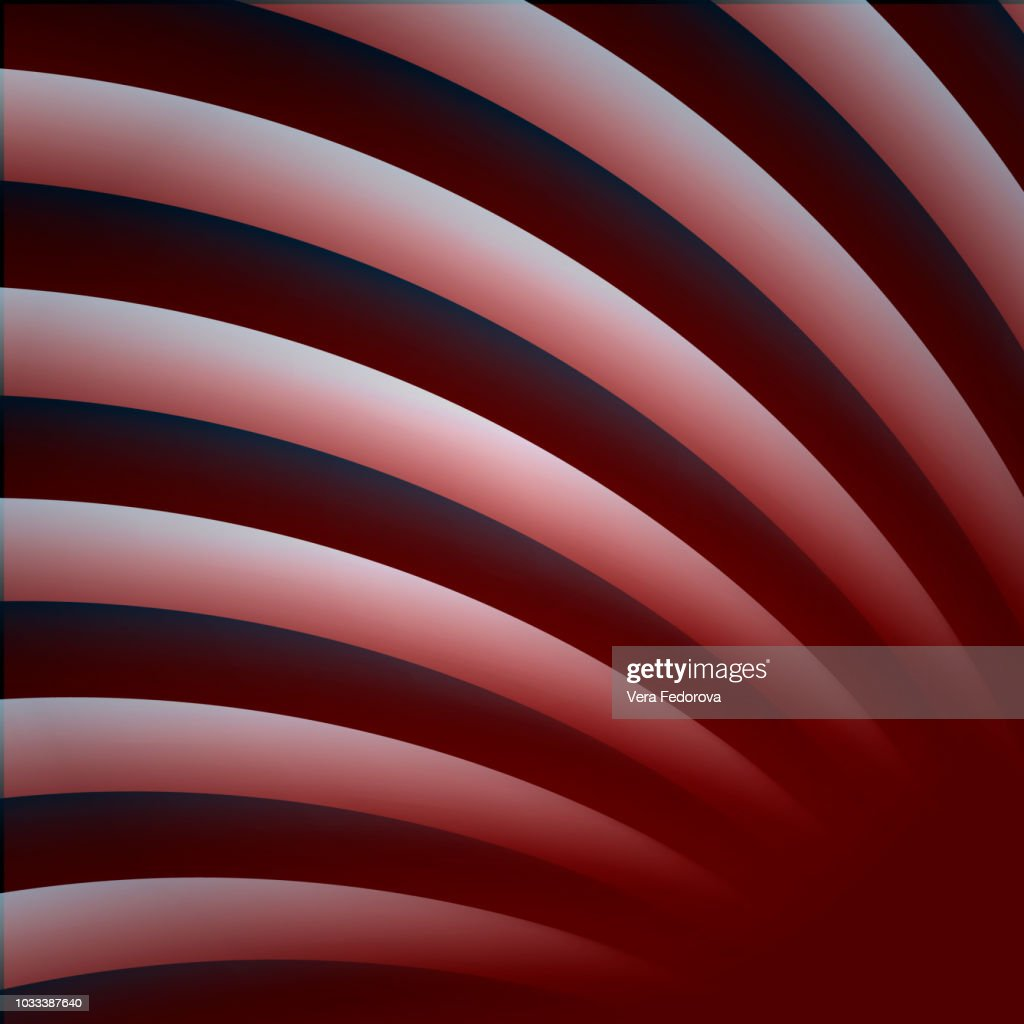 Red striped modern abstract background. Technology illustration.