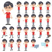 red Tshirt Glasse men_1