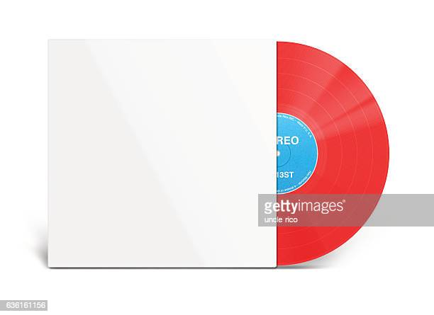 Red Vinyl and White Cover