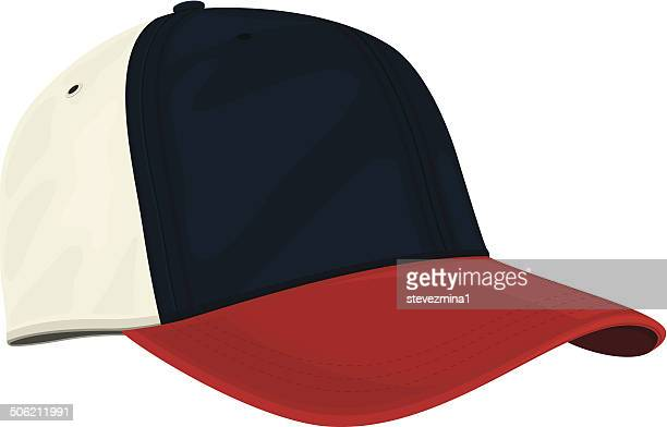 Red, White and Blue Cap