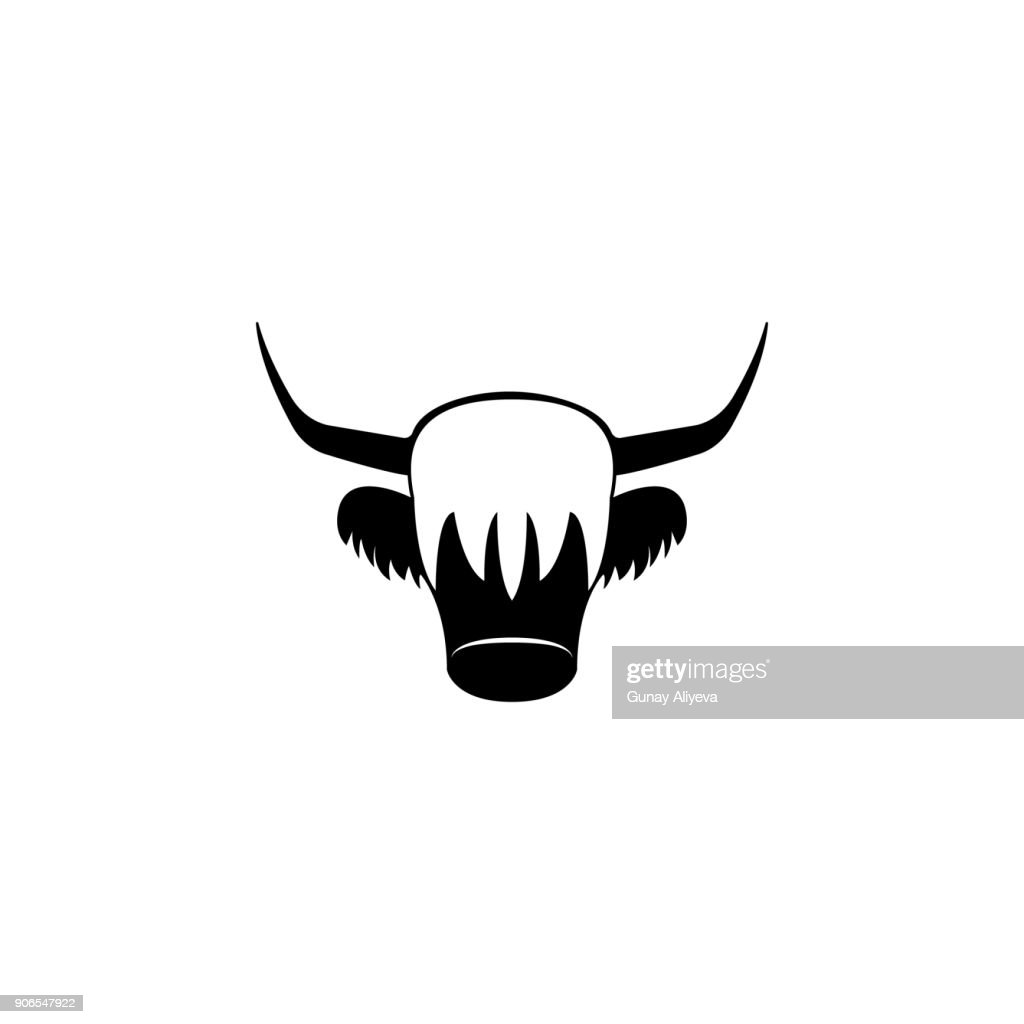 Red Yak icon. Element of United Kingdom culture icons. Premium quality graphic design icon. Signs, outline symbols collection icon for websites, web design, mobile app