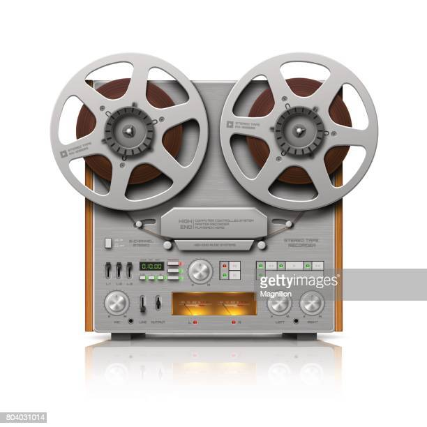 Reel-to-reel Audio Tape Recorder